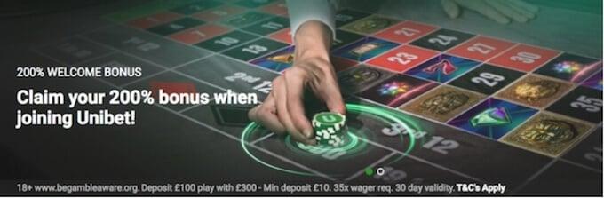Unibet casino - join Unibet!