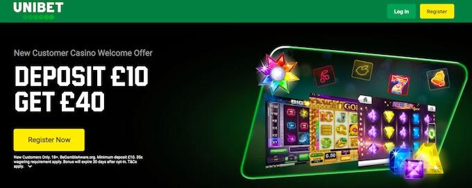 Unibet Casino Bonus UK