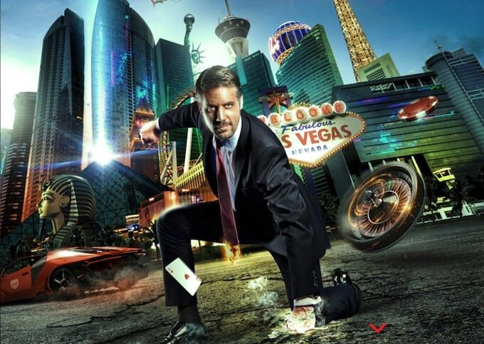 Vegas Hero homepage