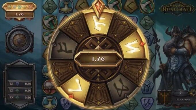 Viking Runecraft slot runes of valhalla bonus