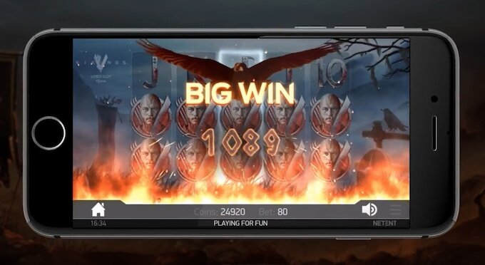 Vikings slot on mobile