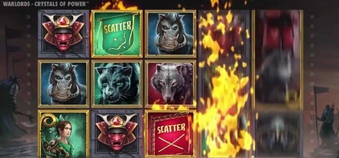 Play Warlords: Crystals of Power slot at Mr Green casino