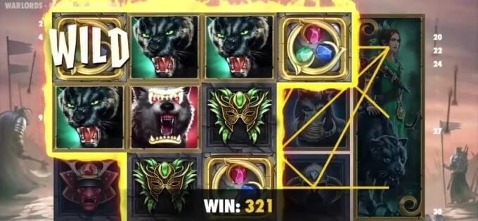 Play Warlords: Crystals of Power slot at Betsafe casino