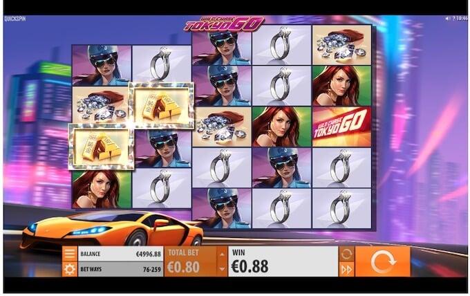 Wild Chase: Tokyo Go Slot Re-spins