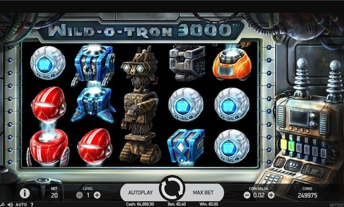 Wild O Tron slot NetEnt