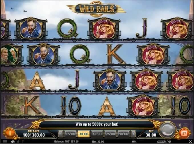 Wild Rails slot by Play N Go