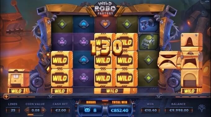 Wild Robo Factory slot review