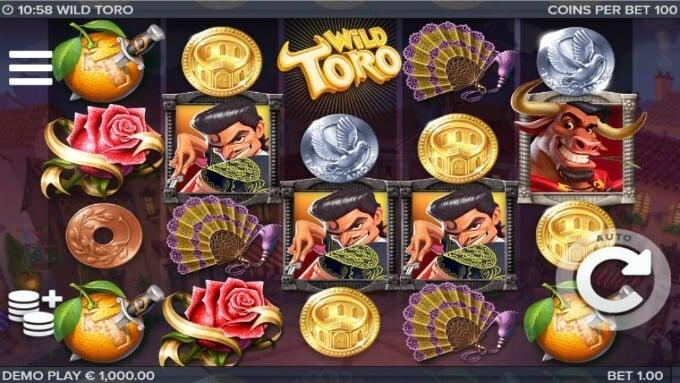 Play Wild Toro slot
