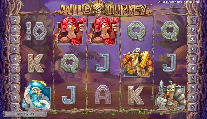 Play Wild Turkey slot at Rizk casino