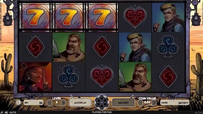 Play Wild Wild West slot at Betsafe casino