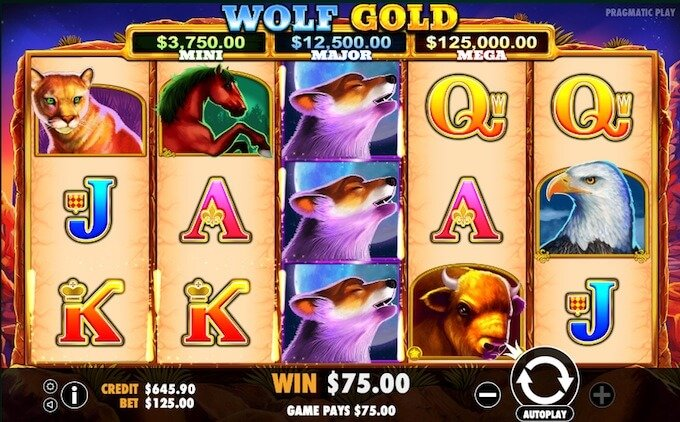 Wolf Gold slot by Pragmatic Play